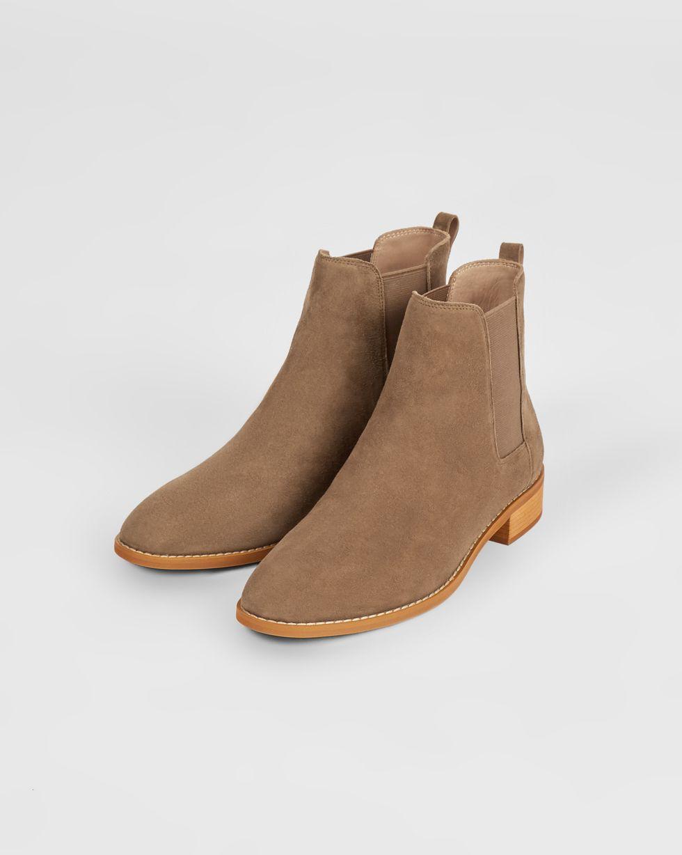 12Storeez Ботинки из замши с резинкой (темно-песочные) 12storeez ботинки из замши с резинкой песочные