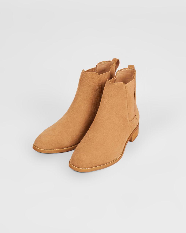 12Storeez Ботинки из замши с резинкой (песочные) 12storeez ботинки из замши с резинкой серо зеленые