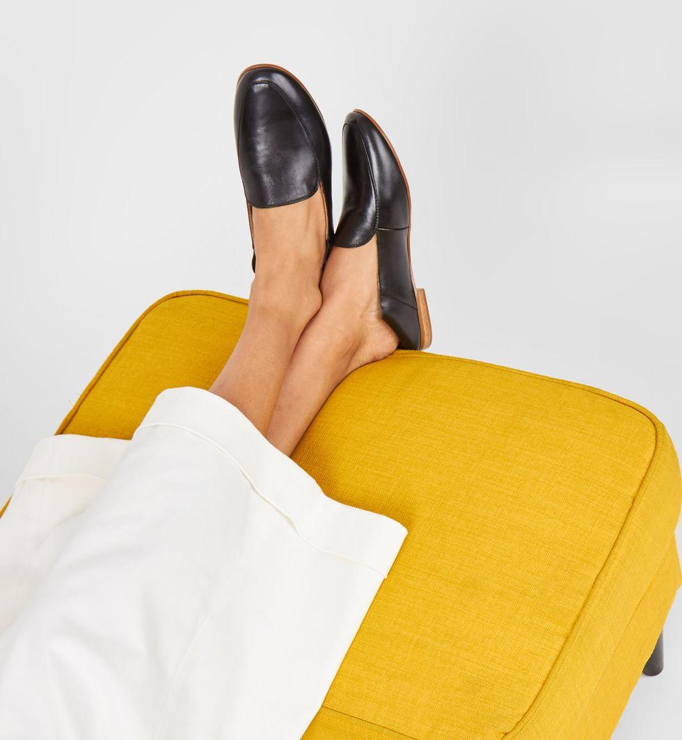 12Storeez Туфли-бабуши с мягким задником (черные)