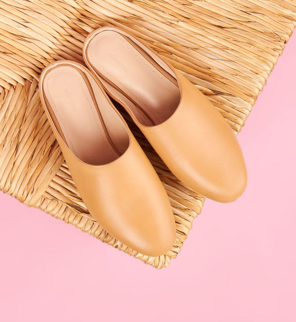 12Storeez Туфли-бабуши без задника (бежевые) туфли без задника