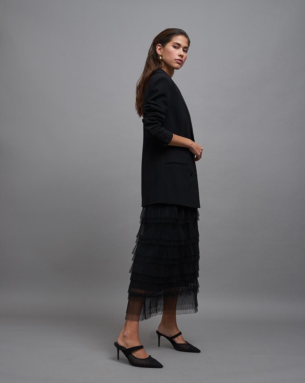 Фото - 12Storeez Юбка из сетки юбка из полиамида