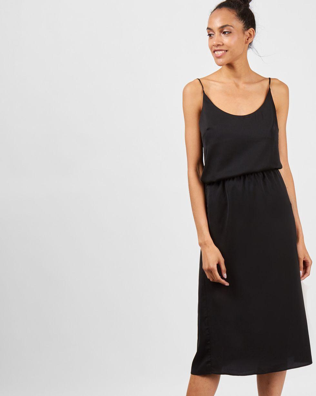 12Storeez Юбка миди на резинке (черный) квадратный танец танца юбка черный юбка тела юбка тянуть канат безопасности штаны латинский танцевальная юбка