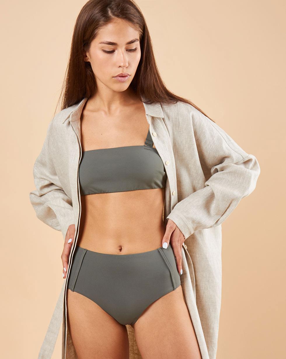 12Storeez Низ купального костюма - завышенные плавки dondup плавки