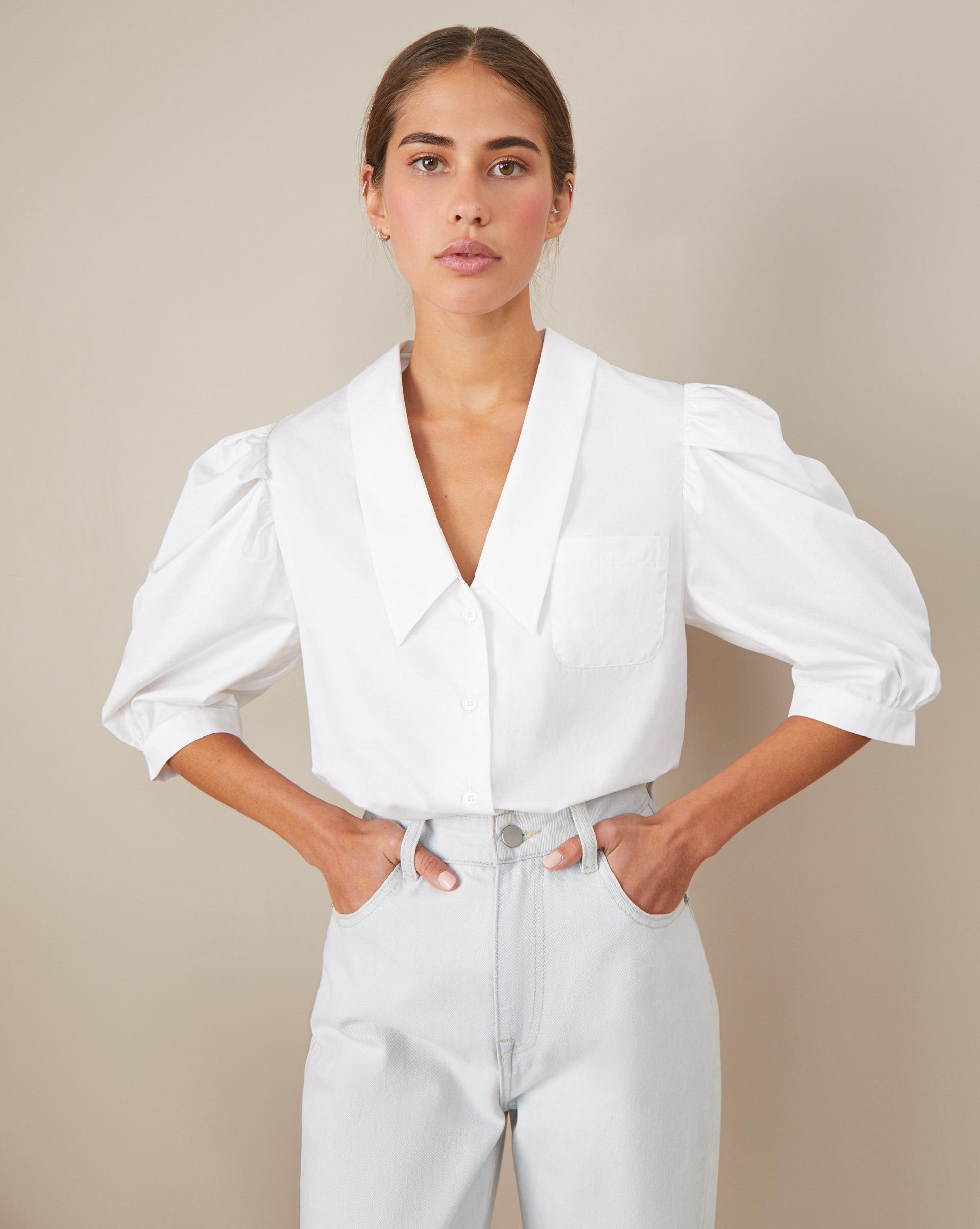 цена на 12Storeez Блуза с объемными рукавами