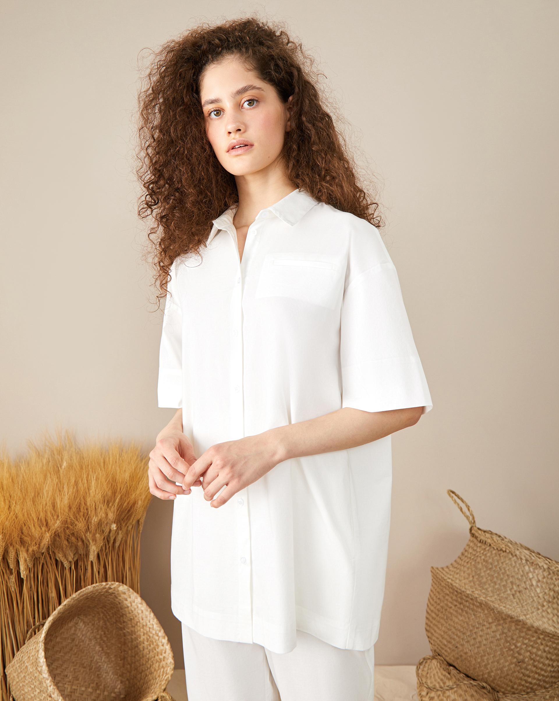 12Storeez Блуза с коротким рукавом блуза с коротким рукавом seventy блузы с коротким рукавом