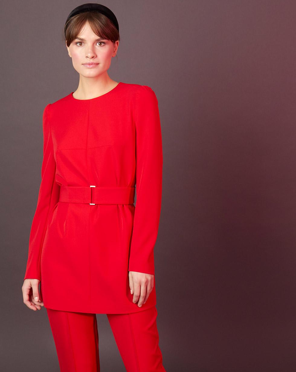 цена 12Storeez Блуза удлинённая онлайн в 2017 году