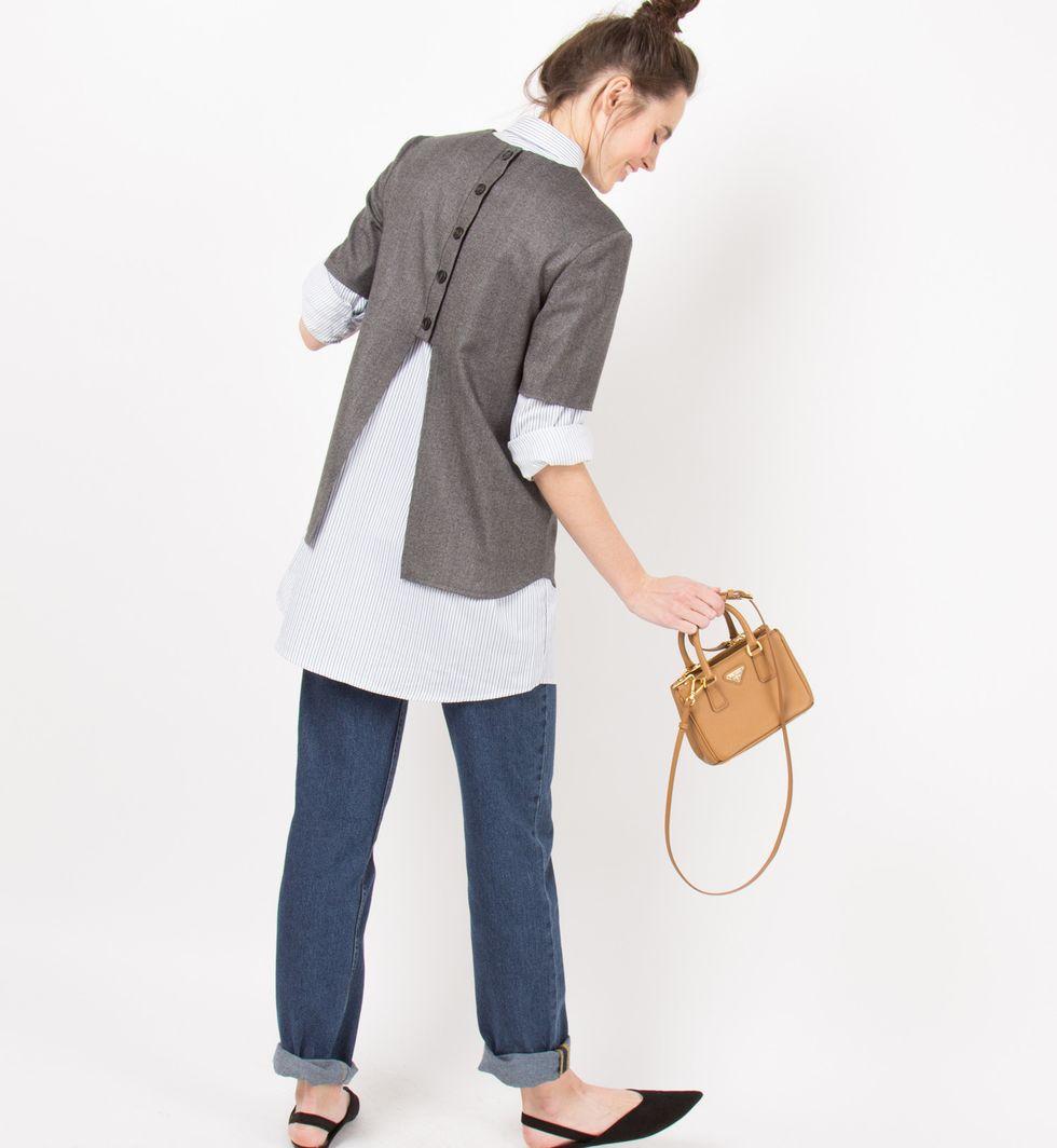 Топ с пуговицами сзади XSтопы и блузы<br><br><br>Артикул: 8287865<br>Размер: XS<br>Цвет: Серый<br>Новинка: НЕТ<br>Наименование en: Button back top