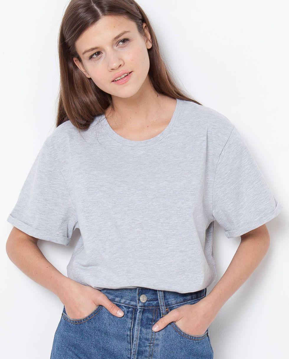 Футболка свободного кроя One sizeТопы и блузы<br><br><br>Артикул: 8285711<br>Размер: One size<br>Цвет: Серый<br>Новинка: НЕТ<br>Наименование en: Oversized T-shirt