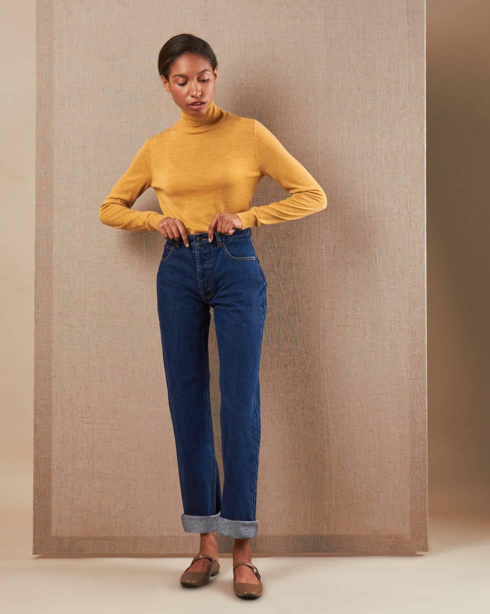 12Storeez Джинсы D30-006 (Темно-синий) джинсы женские oodji ultra цвет темно синий джинс 12103156 46787 7900w размер 29 32 48 32