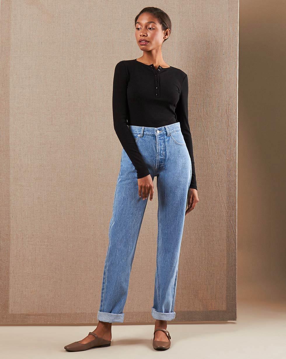 12Storeez Джинсы D30-006 (Голубой) джинсы в москве недорого