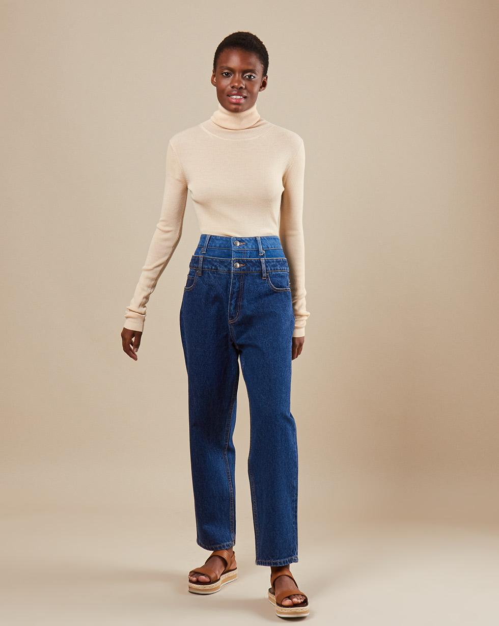12Storeez Джинсы D30/007 (Темно-синий) джинсы женские oodji ultra цвет темно синий джинс 12103156 46787 7900w размер 29 32 48 32