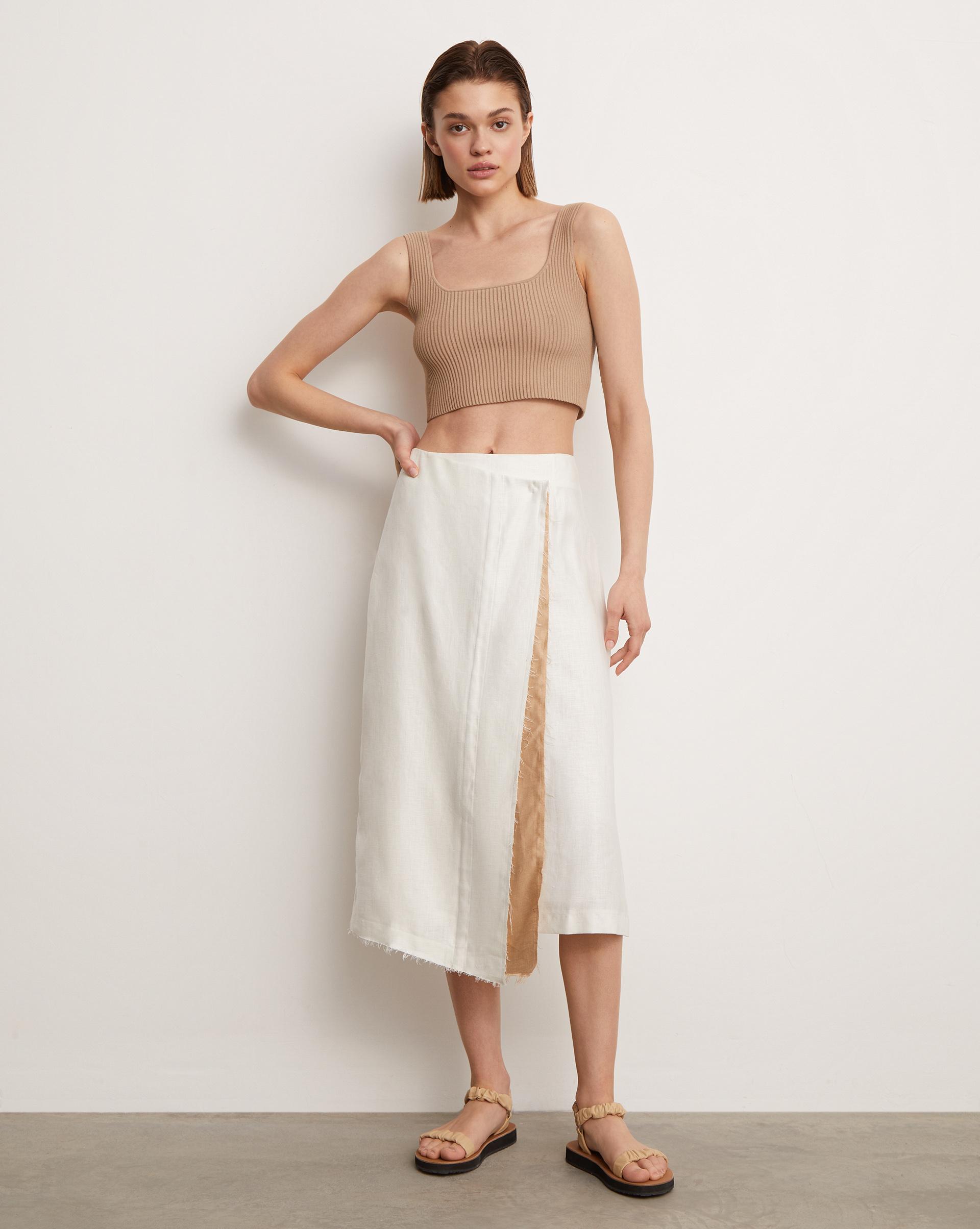 12⠀STOREEZ Асимметричная юбка