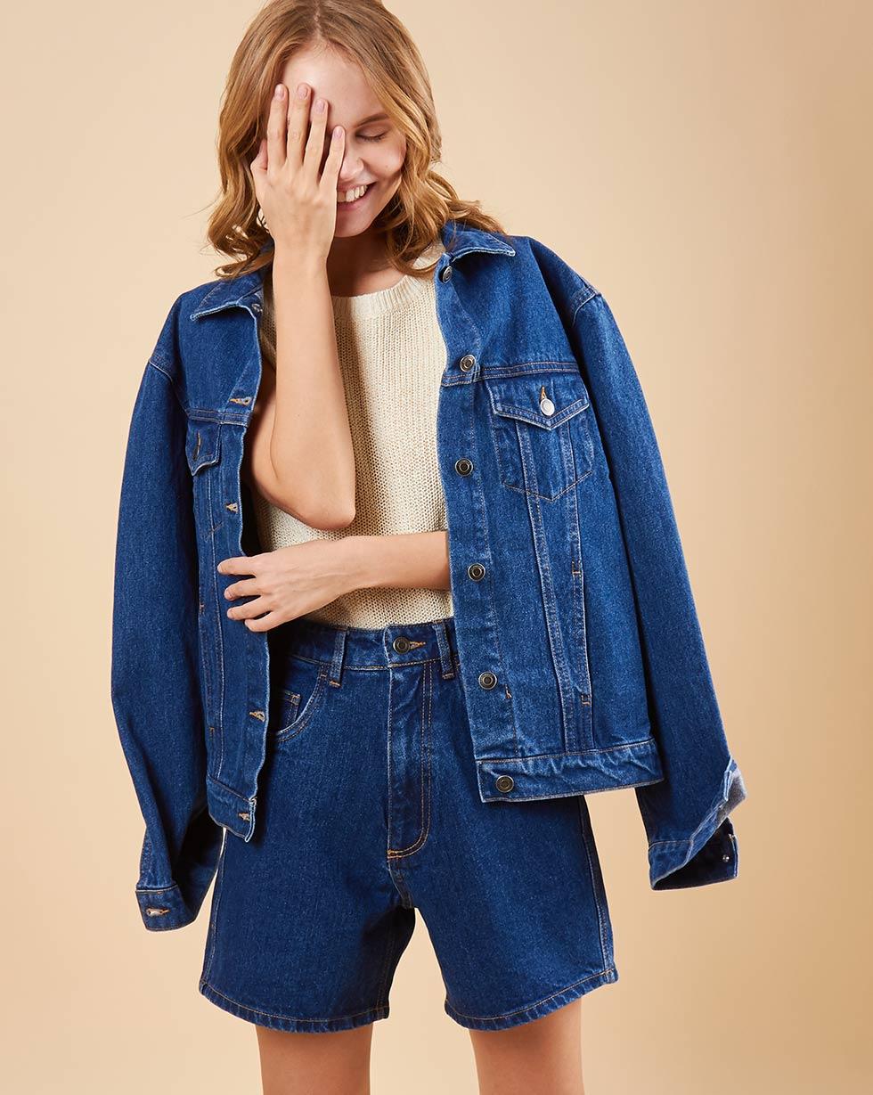 12Storeez Джинсовые шорты (синий) SS19