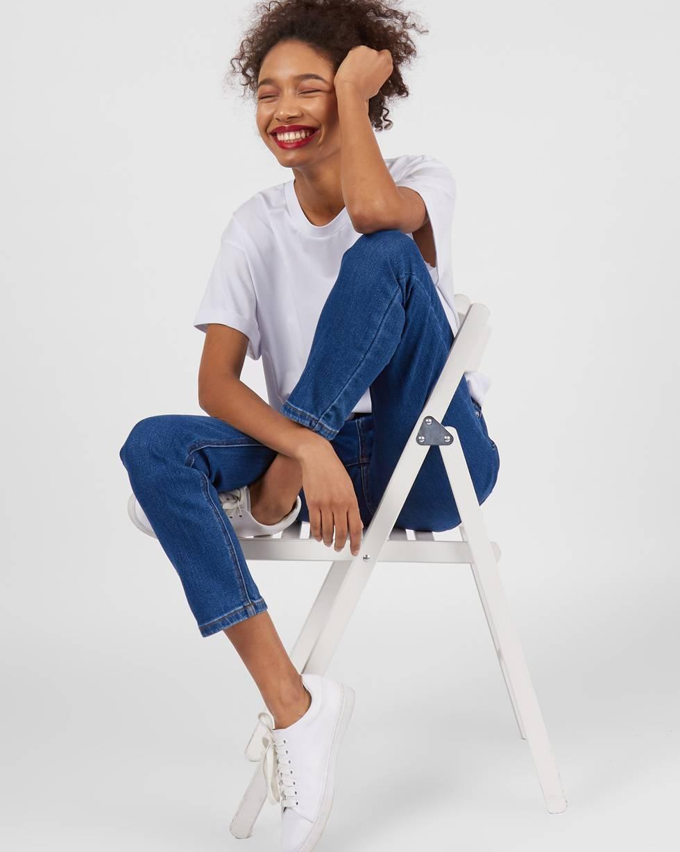 12Storeez Джинсы классические (синий) джинсы