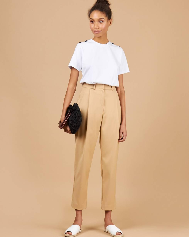 12Storeez Зауженные брюки (бежевый)