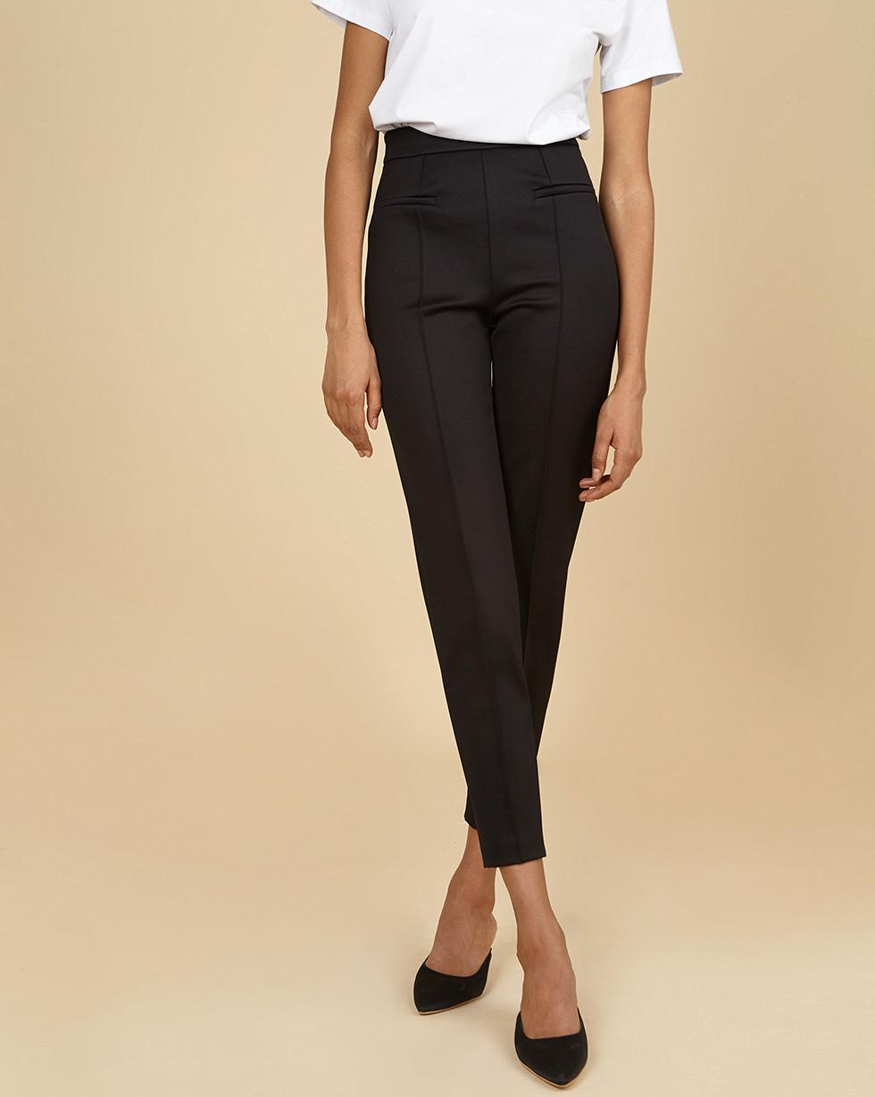 12Storeez Брюки узкие (чёрный) брюки узкие с пропиткой new brooke