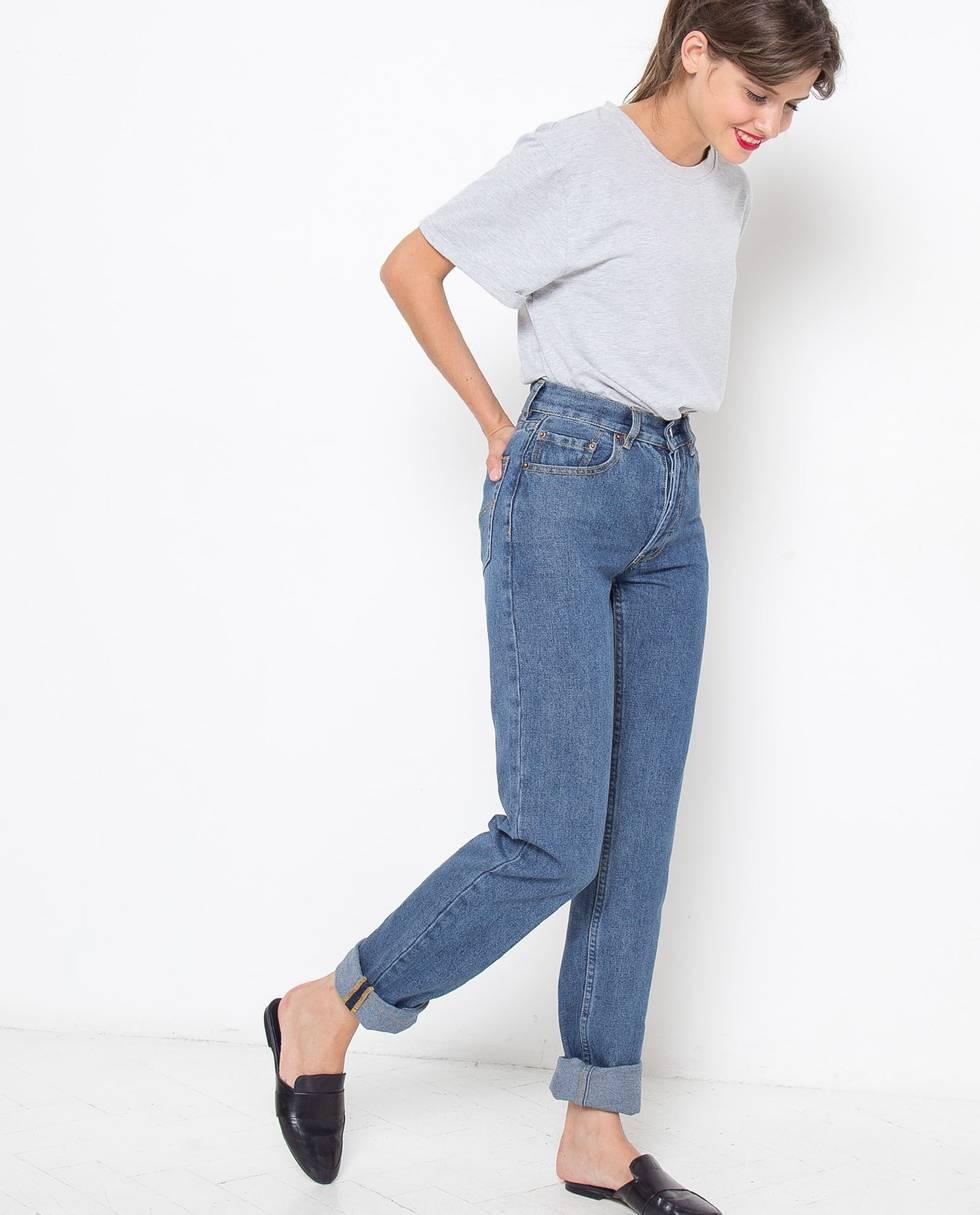 Джинсы с высокой посадкой Sбрюки<br><br><br>Артикул: 22086532<br>Размер: S<br>Цвет: Синий<br>Новинка: НЕТ<br>Наименование en: High waisted jeans