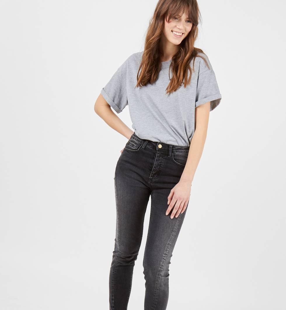 Джинсы с необработанным краем SБрюки<br><br><br>Артикул: 22088385<br>Размер: S<br>Цвет: Черный<br>Новинка: НЕТ<br>Наименование en: Frayed hem skinny jeans