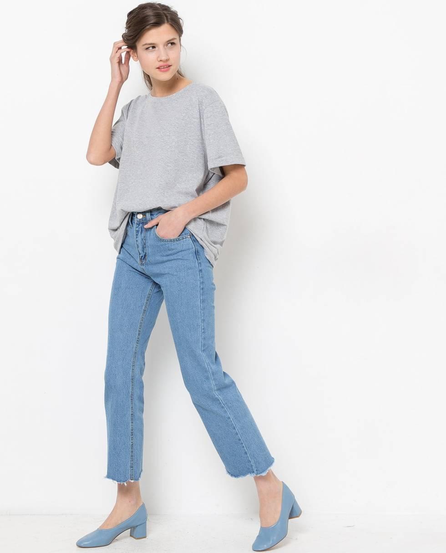12Storeez Джинсы расклешённые (сине-голубые) джинсы расклешенные длина 34