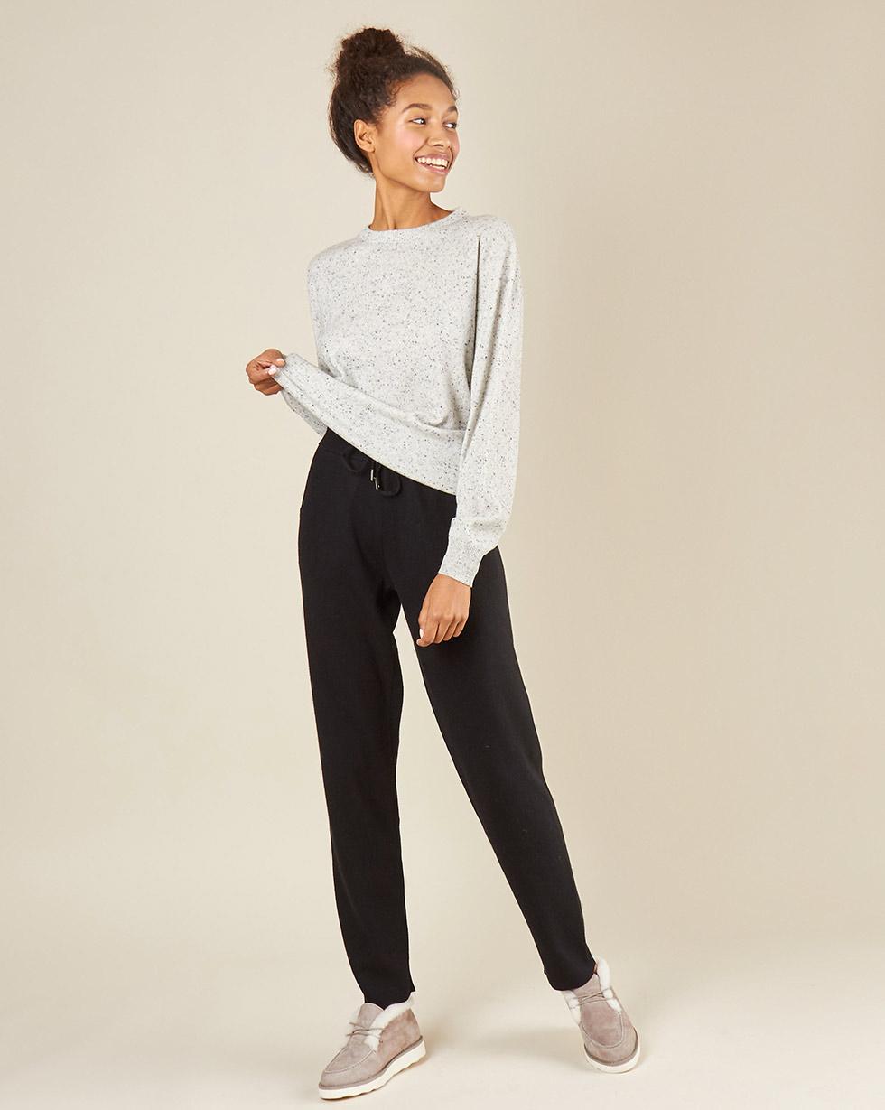 12Storeez Брюки трикотажные с карманами (черный) брюки с 5 карманами glenn