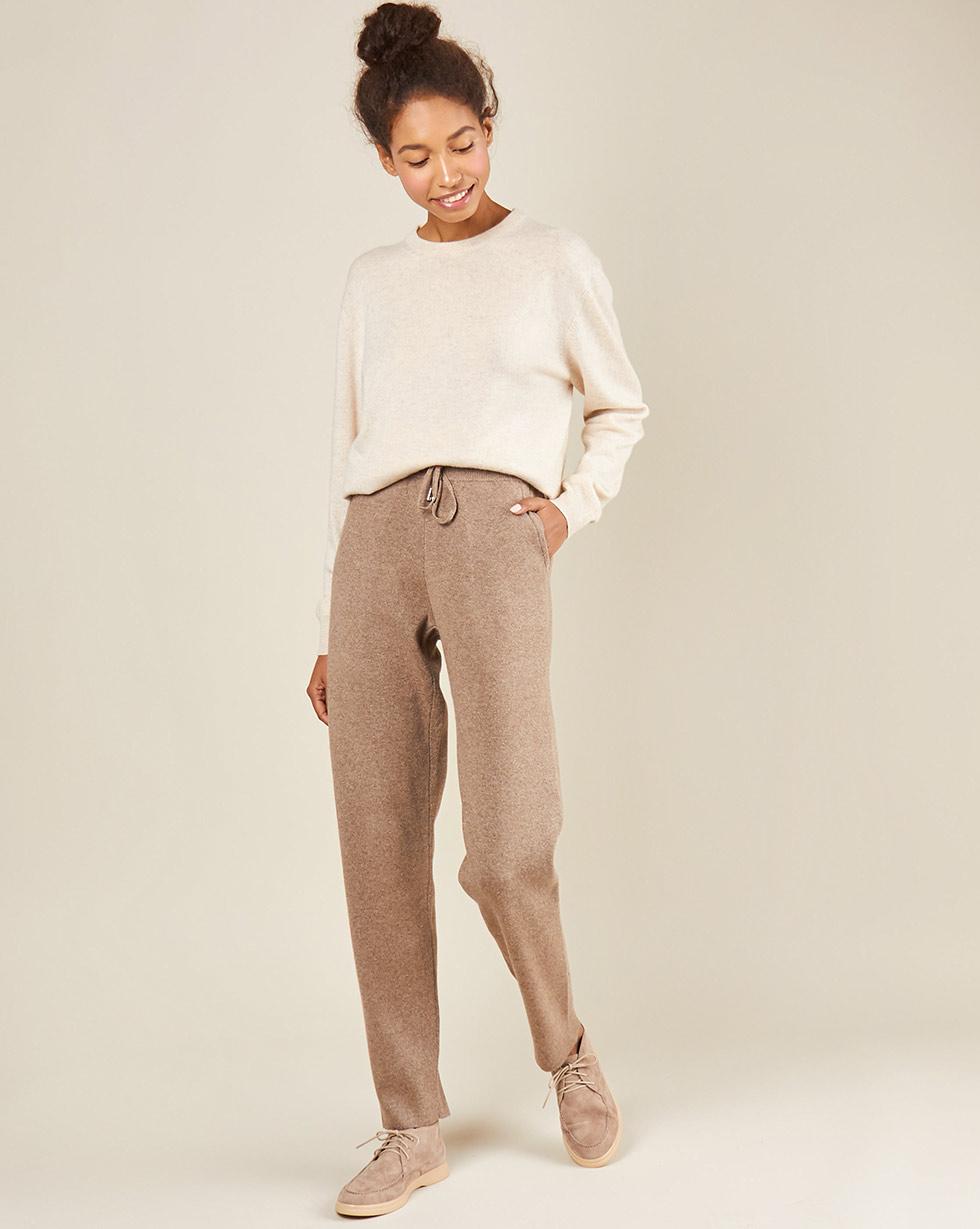 12Storeez Брюки трикотажные с карманами (кофейный) брюки с 5 карманами glenn