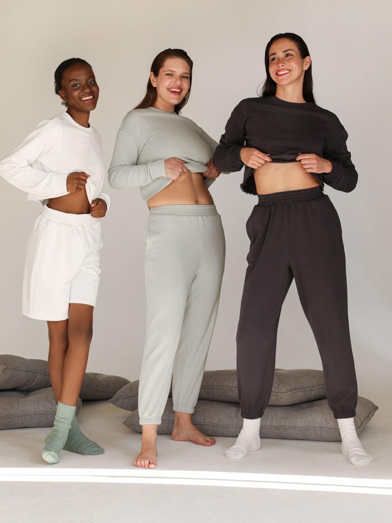 12STOREEZ Спортивные брюки с завышенной талией