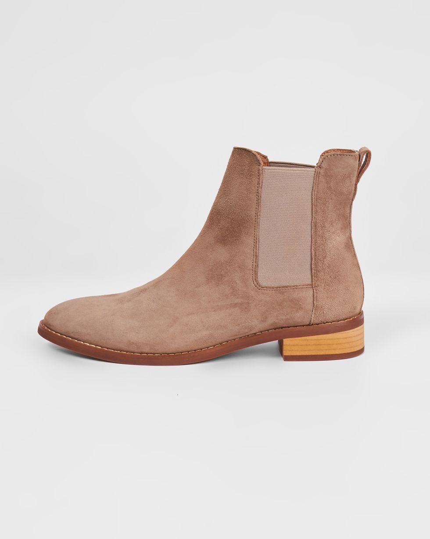 12⠀STOREEZ Ботинки из замши с резинкой 12⠀storeez ботинки с трикотажным чулком