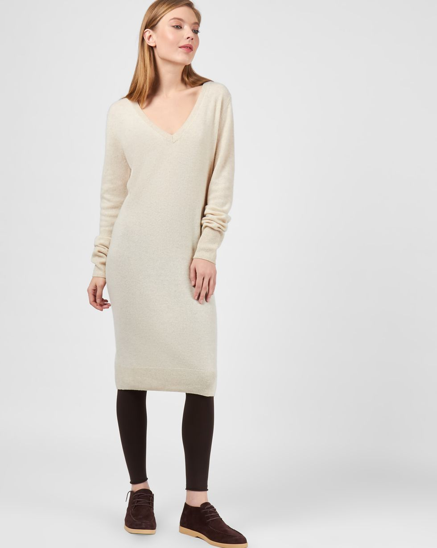 12STOREEZ Платье миди из 100% кашемира