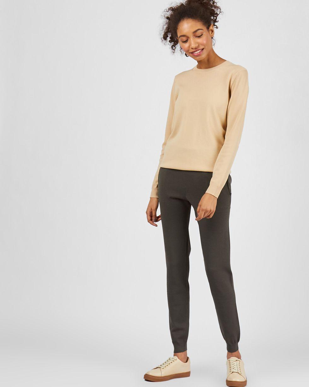цена 12STOREEZ Костюм: джемпер и брюки с карманами онлайн в 2017 году