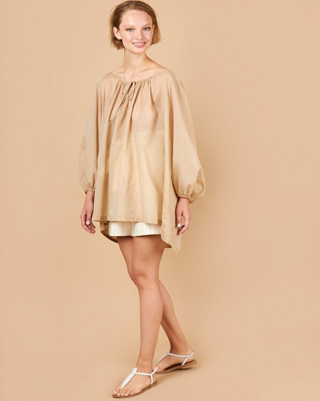 12STOREEZ Блуза объемная на завязках блуза савосина савосина mp002xw0rc5h