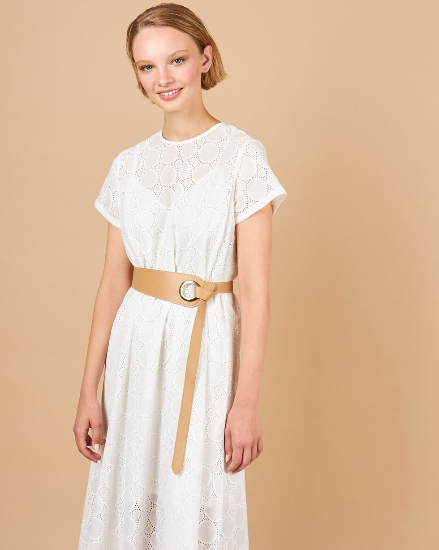 12STOREEZ Платье-футболка из шитья Большие круги