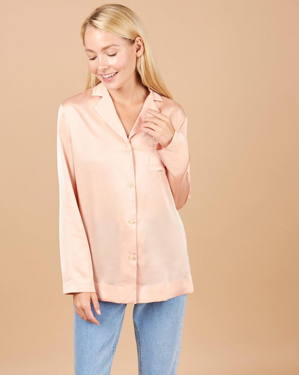 12STOREEZ Блуза на пуговицах сделано чтобы прилипать