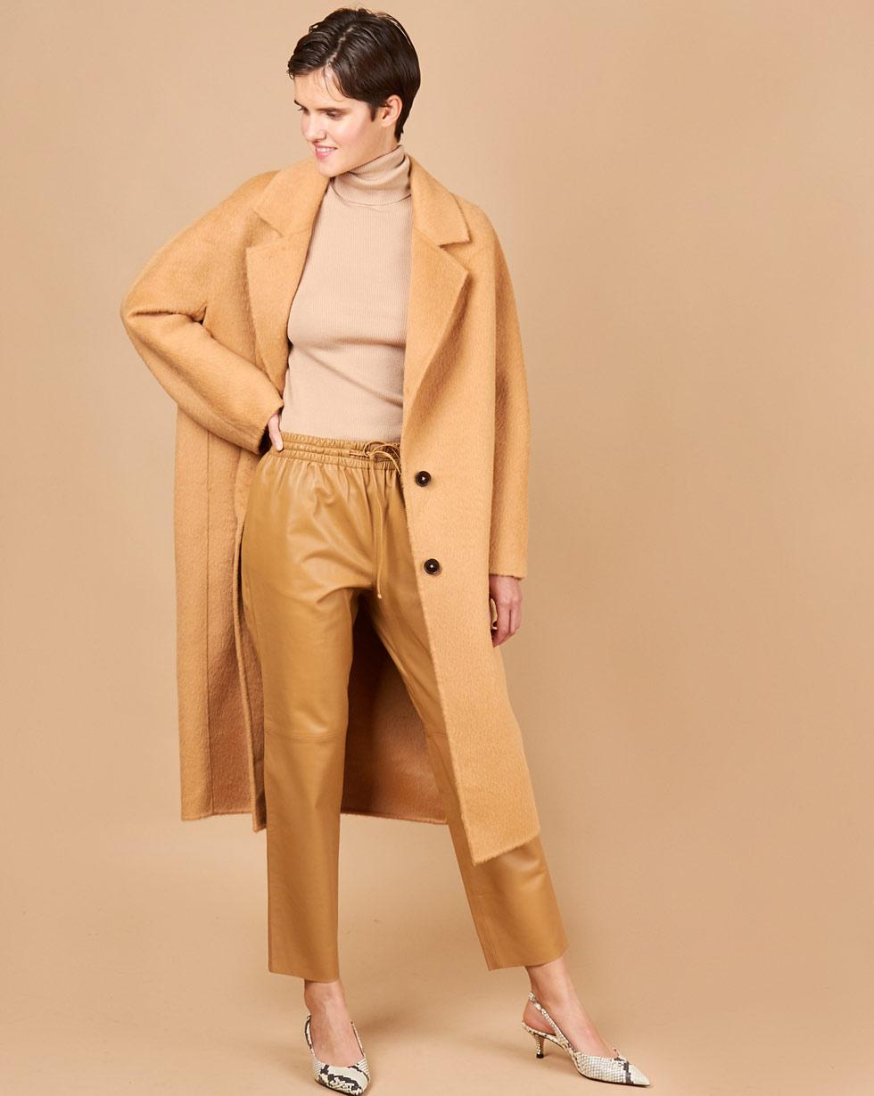 12STOREEZ Пальто из шерсти альпаки