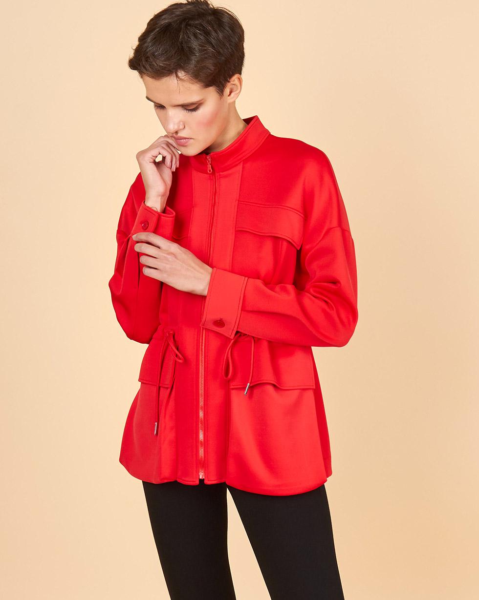 12STOREEZ Куртка на молнии с кулиской