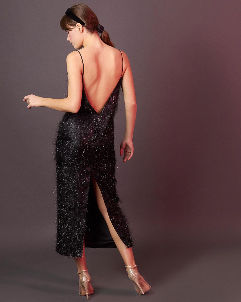 12⠀STOREEZ Платье из ткани травка