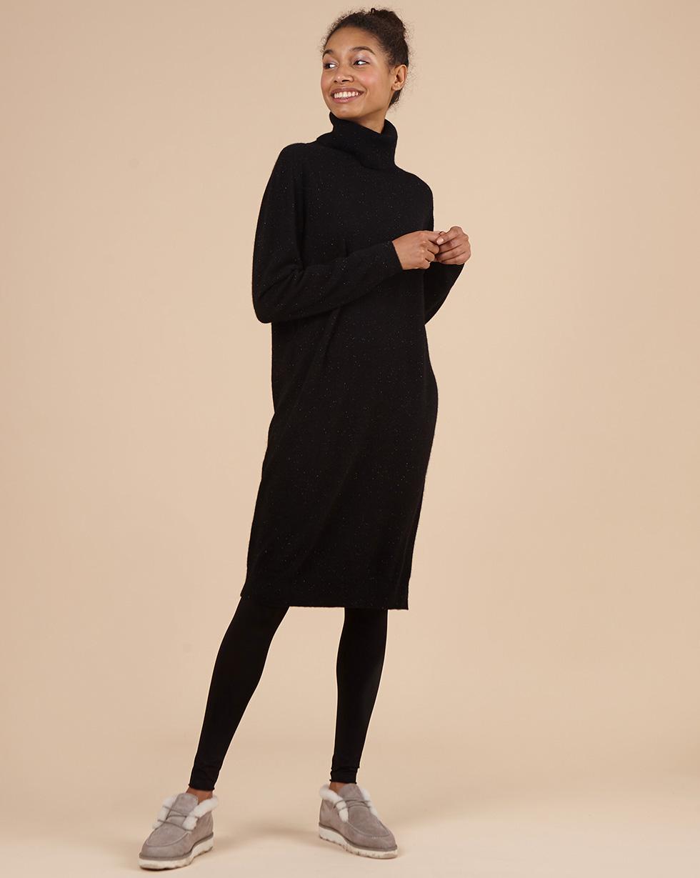 12STOREEZ Платье с высоким воротником из 100% кашемира