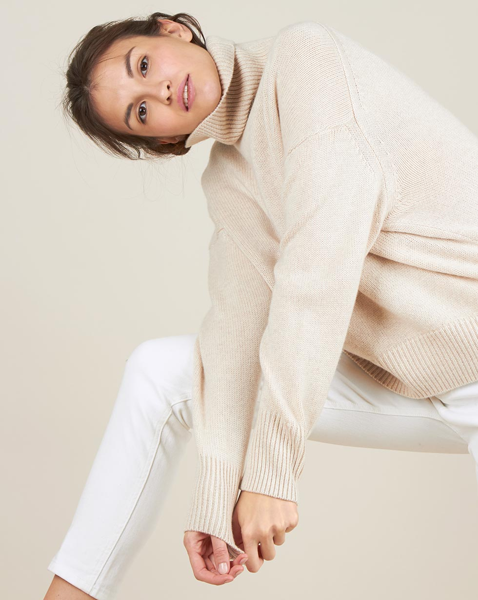 12STOREEZ Свитер из 100% кашемира the kooples свитер
