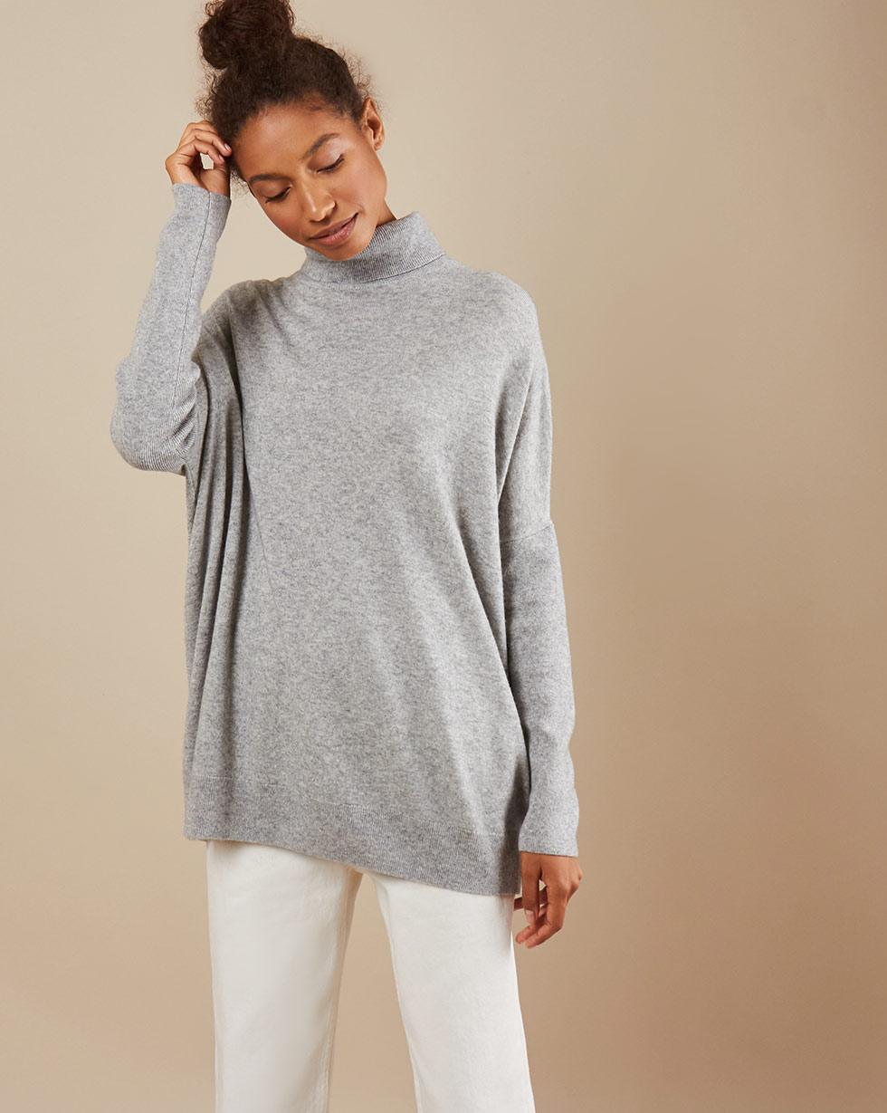12STOREEZ Свитер объёмный тонкой вязки the kooples свитер