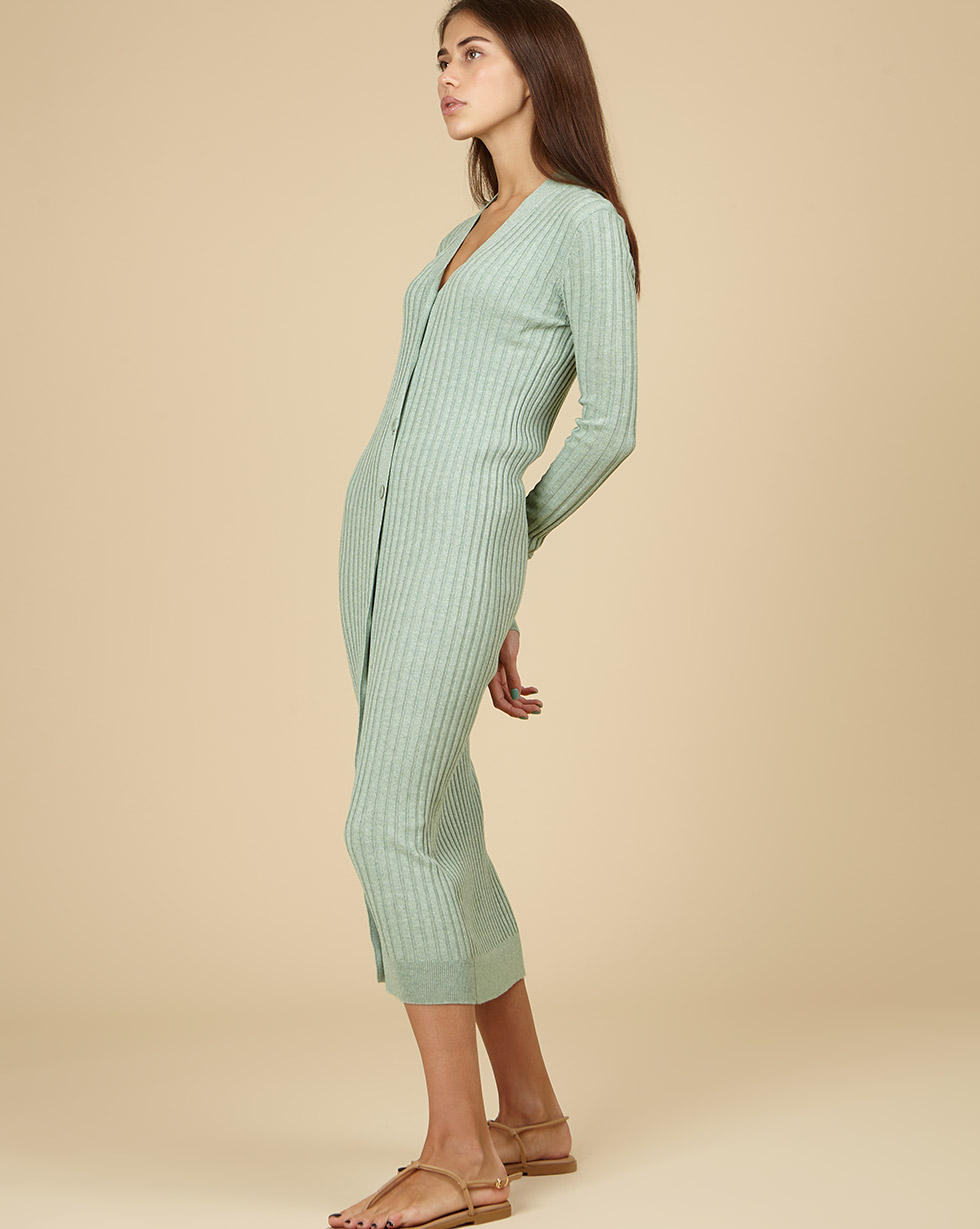 цена на 12STOREEZ Трикотажное платье-кардиган