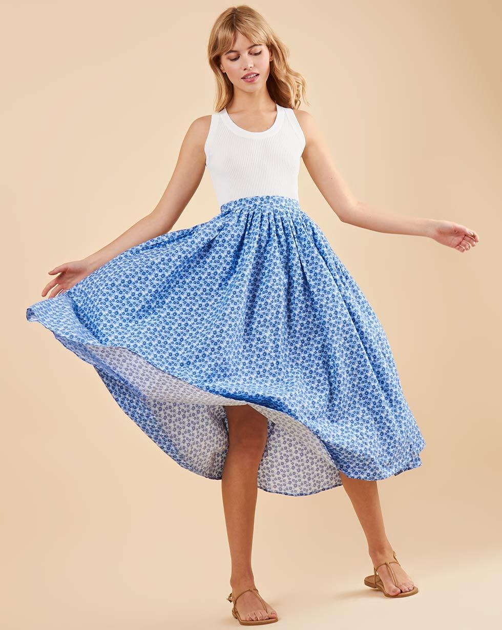 Фото - 12⠀STOREEZ Юбка-трапеция со складками 12storeez юбка миди со складками спереди