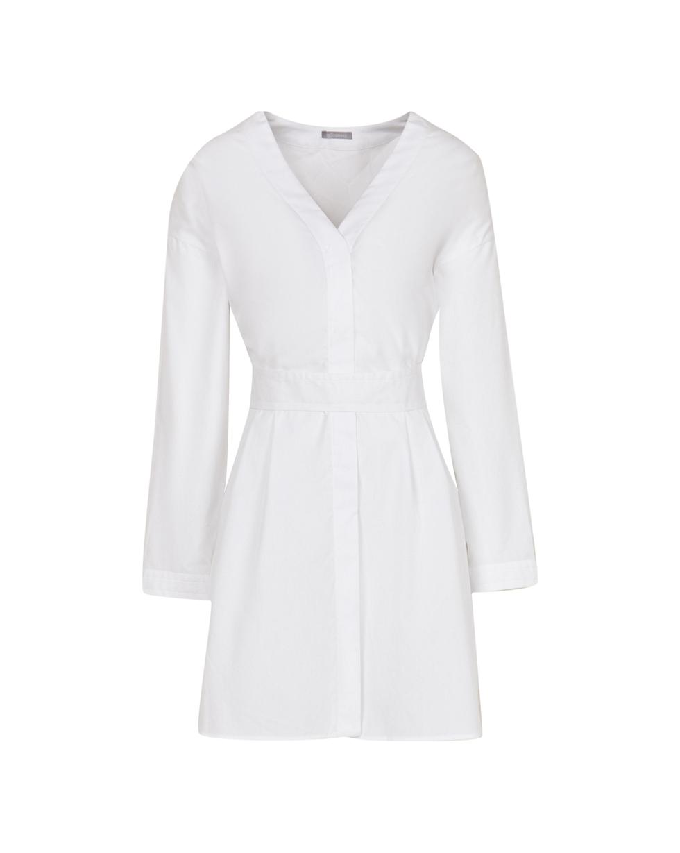 12⠀STOREEZ Платье-рубашка со съёмным поясом