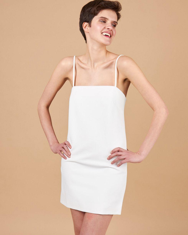 12STOREEZ Платье мини на тонких бретелях