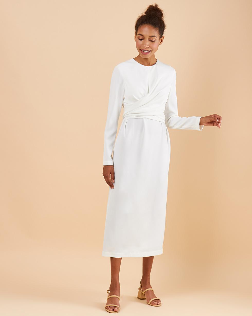12STOREEZ Платье миди с завязками