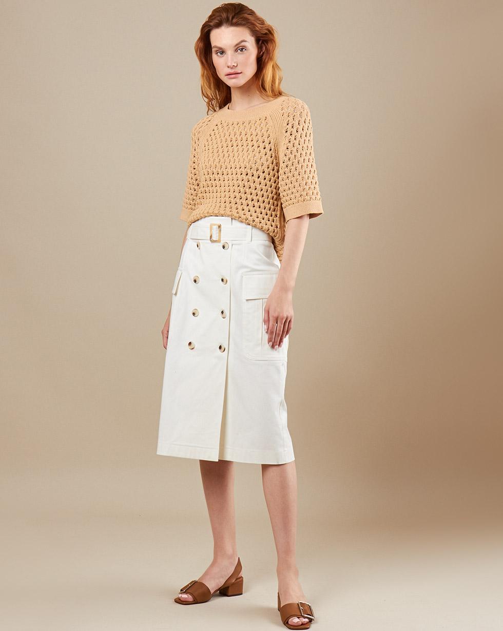 12STOREEZ Юбка миди со съемным поясом юбка с поясом life style