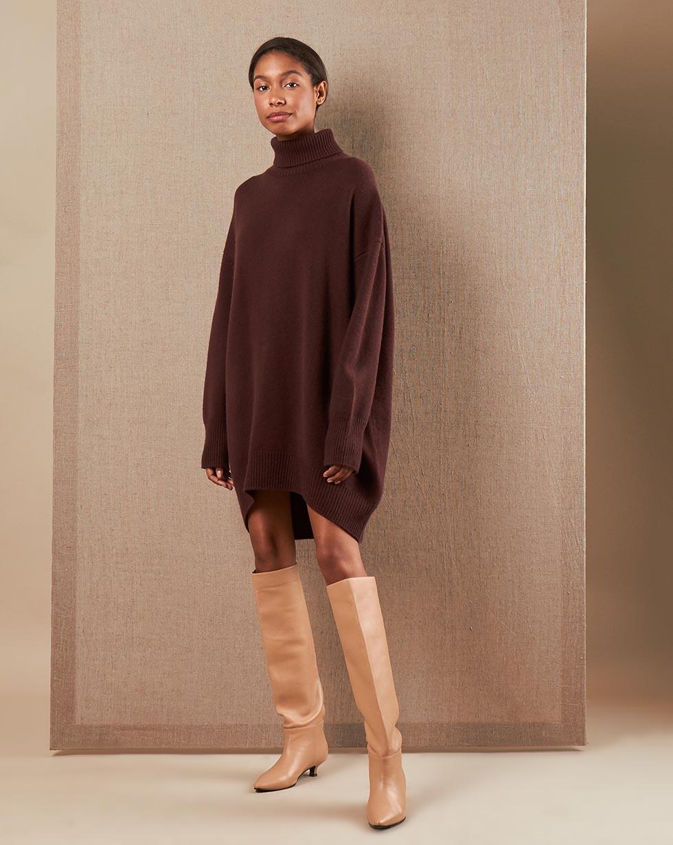 цена 12STOREEZ Платье-свитер из кашемира и шерсти онлайн в 2017 году