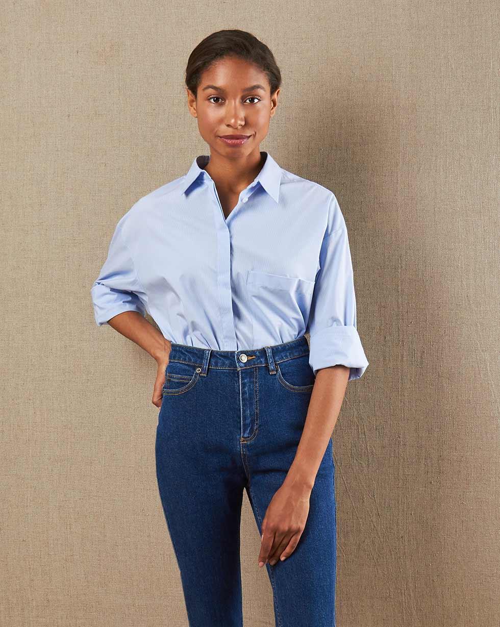 12STOREEZ Джинсы классические (Синий) джинсы gulliver размер 146 синий