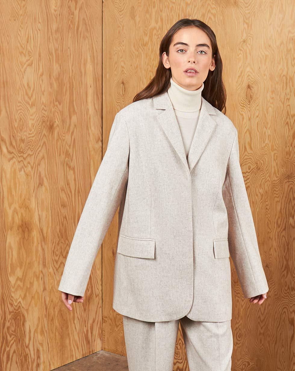 12STOREEZ Пиджак классический, с объемными плечами пиджак pinetti пиджак