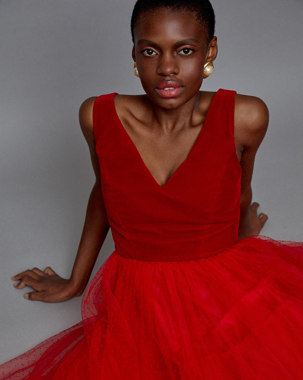 12STOREEZ Платье с юбкой из сетки платье футляр с оборкой из сетки red valentino