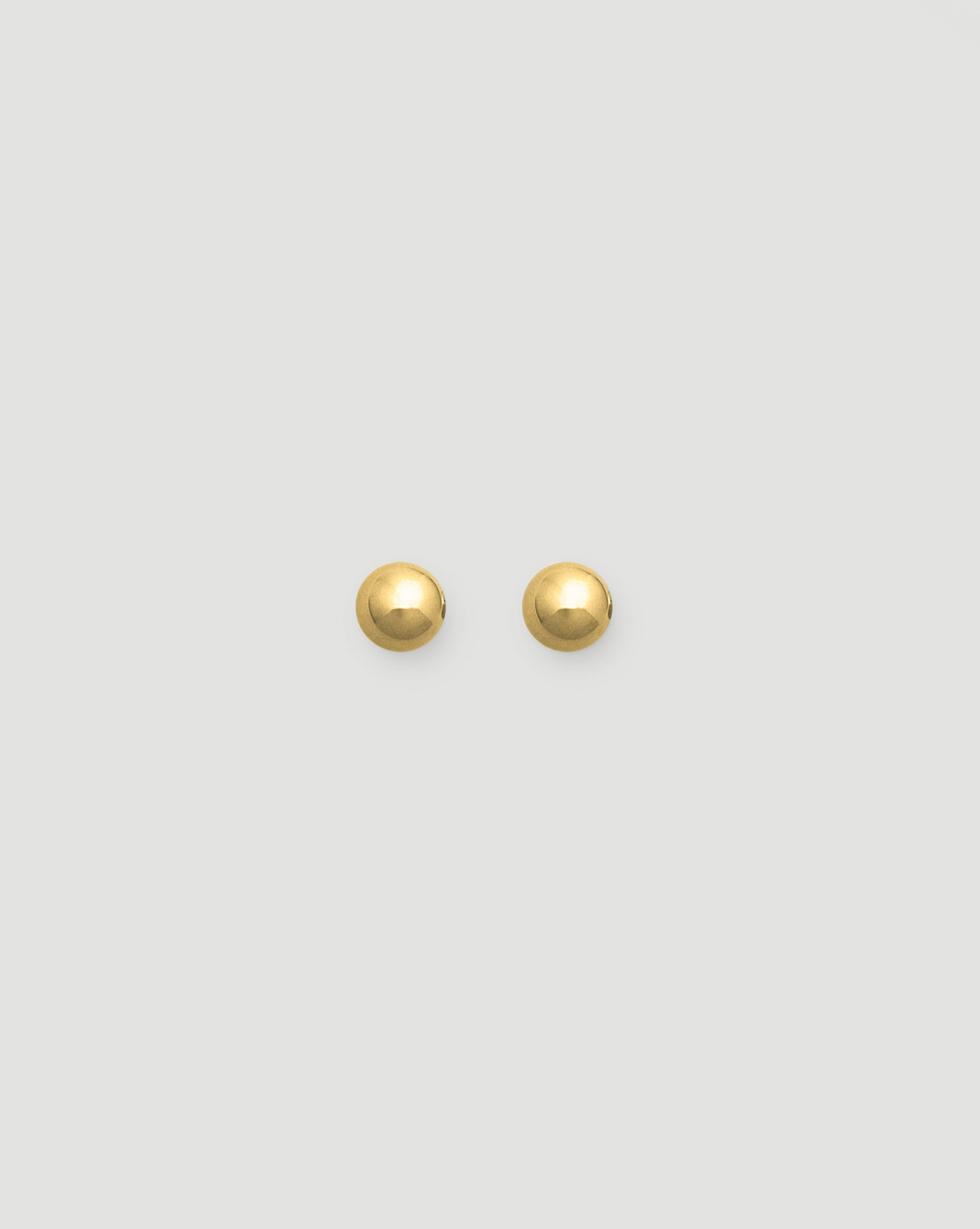 12STOREEZ Серьги-гвоздики, покрытые золотом серьги гвоздики roxi birthday 2020282490