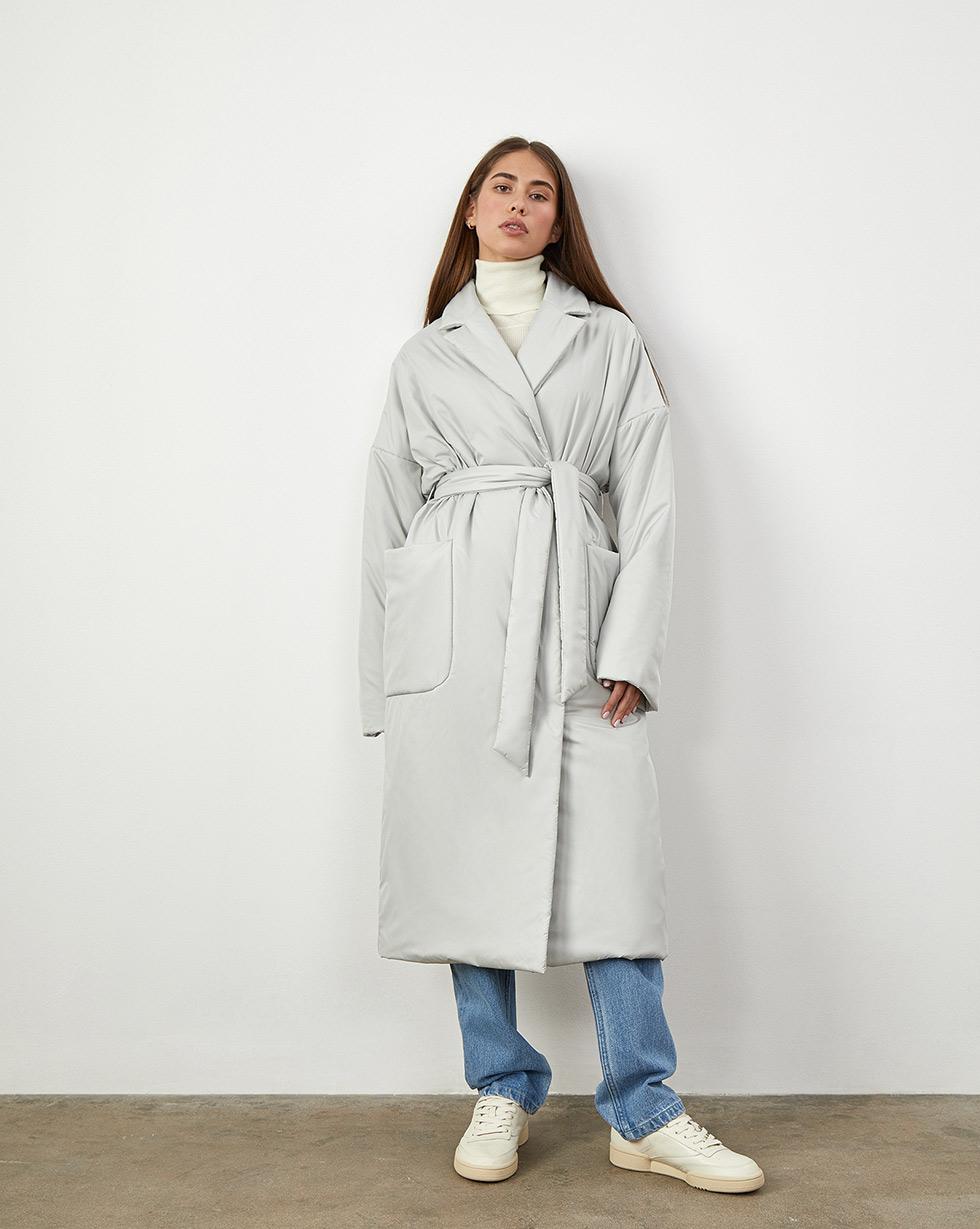 12⠀STOREEZ Пальто утепленное, с поясом